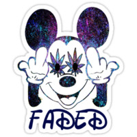 Faded Mickey T-Shirts & Hoodies