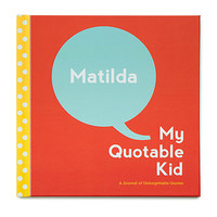 Custom My Quotable Kid Book