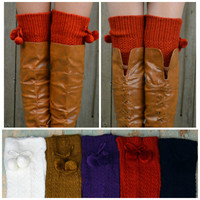 Denver Creek Textured Boot Sock Leg Warmers