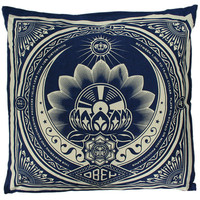 OBEY - Lotus Pillow, Navy