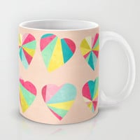 Some Hearts Mug by Jacqueline Maldonado