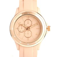 New Look Miami Sports Rose Gold Watch