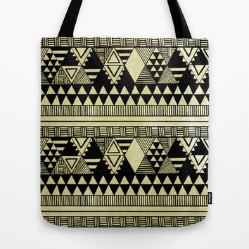 Ethnic Chic Tote Bag by Louise Machado