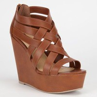 Soda Berta Womens Shoes Tan  In Sizes