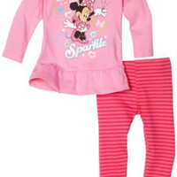 Disney Baby-Girls Infant 2 Piece Minnie Legging Set