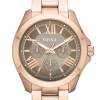 Fossil 'Cecile' Multifunction Bracelet Watch, 40mm | Nordstrom