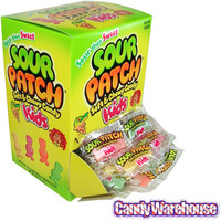 Sour Patch Kids Candy - Wrapped: 240-Piece Box