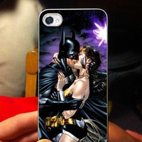 Blackest Batman Night Wonder Woman -OC- iPhone 5 case Black/White Case
