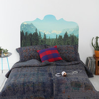 Magic Mountain Headboard Wall Decal - Urban Outfitters