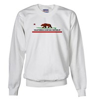Ca. Surfing Republic Vintage Sweatshirt by CafePress