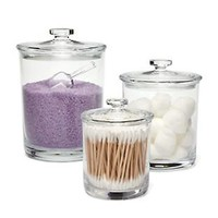 The Container Store > Bliss Acrylic Canisters