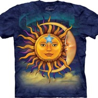 The Mountain Sun Moon T-Shirt - Medium