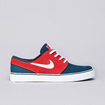 Flatspot - Nike SB Stefan Janoski Dark Sea / White - Team Orange