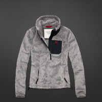 A&F Mountain Fleece Jacket