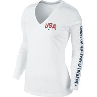 Nike Women's DriFIT Cotton Long Sleeve Shirt Dick's Sporting Goods