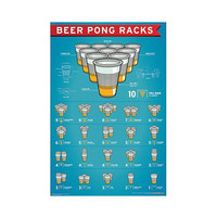 'Beer Pong Racks' Poster