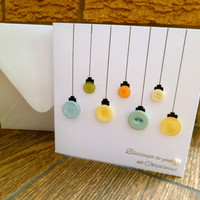 On Sale, Pack of Christmas Cards - Pack of 20 Bauble Ornament Christmas Cards
