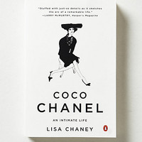 Coco Chanel: An Intimate Life     by Anthropologie White One Size Gifts