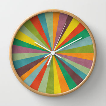 Primordial Wall Clock by Nick Nelson