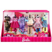 Barbie fashion clothes - ultimate gift set 6 outfits