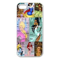 Alicefancy Forever Princess Vogue Magzine Custom Style Cover Case For Iphone 5 QYF20758