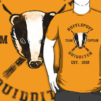 Hufflepuff Quidditch Athletic Tee Harry Potter Shirt