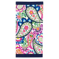 Seaside Paisley Beach Towel