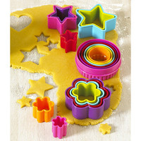 Colourful Cookie Cutters in cookie and pastry cutters at Lakeland