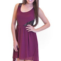 Closet Candy Boutique · Whatever She's Got Dress - Plum