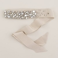 Wedding's Bride - jewelry & accessories - Rhinestone-encrusted sash - J.Crew