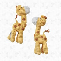 Giraffe with Legs Rattle