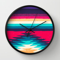 SURF GIRL Wall Clock by Nika