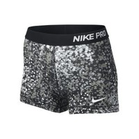 "Nike Store. Nike 3"" Pro Core Compression Printed Women's Shorts"