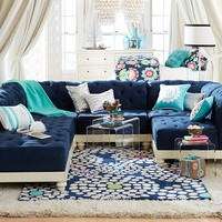 Tufted Cushy Lounge