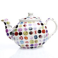 Buttons Tea Pot