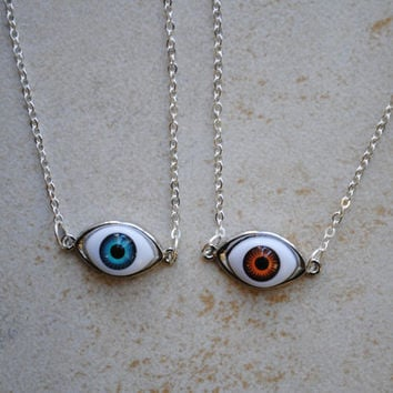 Eyeball Friendship Necklaces