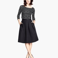 H&M - Crinkled Skirt -