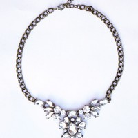 Bloom Rhinestone Necklace