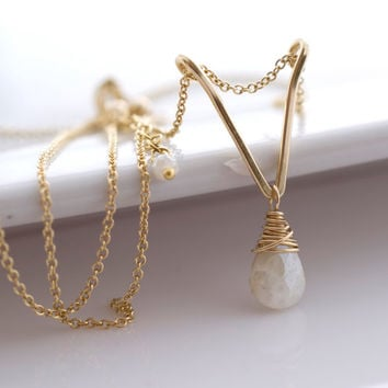 Silverite Necklace, Delicate Necklace, Layering Necklace