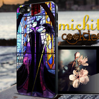 Disney Sleeping Beauty Maleficent - iPhone 4/4s/5/5s/5c Case - Samsung Galaxy S3/S4 - Blackberry z10 Case - Black or White