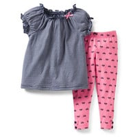 2-Piece Top and Legging Set