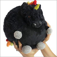 Mini Punk Rock Unicorn: An Adorable Fuzzy Plush to Snurfle and Squeeze!