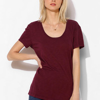 Truly Madly Deeply Slouchy Scoopneck Tee-