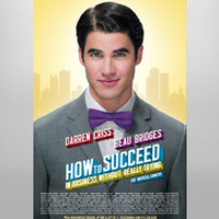 Buy How to Succeed... on Broadway Poster - Darren Criss | The Broadway Store