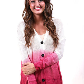 Obsessed with Ombre {Fuchsia}