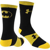 UNDER ARMOUR Men's Alter Ego Batman Performance Crew Socks