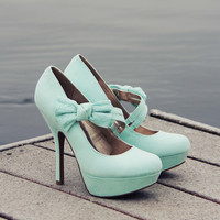 Ancient Lake Lace Heels