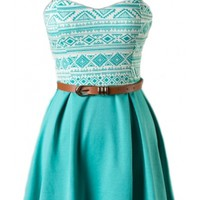 Belted Skater Dress - 29 N Under