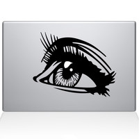 Fashion Eye Macbook Decal | The Decal Guru