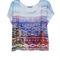 Aztec Photoreal Tee - Multi